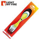丹大戶外用品 瑞典【Light My Fire】LF4134-81 魔術湯匙家庭組 四色一組(黑、萊姆、藍、白)