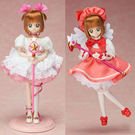 特價組合 庫洛魔法使 小櫻白金版+粉紅服飾_TK89490+TK89491