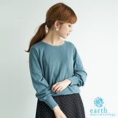 ~Hot item ~有機棉2WAY 針織開襟罩衫earth music ecology