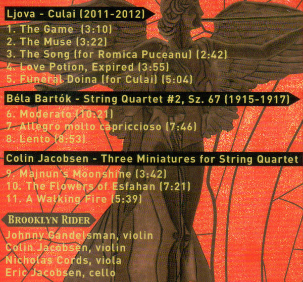 布魯克林騎士合奏團 熱情熾燄 CD (音樂影片購)