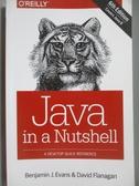 【書寶二手書T5/電腦_ZFW】Java in a Nutshell_Evans, Benjamin J./ Flana