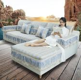 全包萬能客廳款沙發套防滑沙發墊夏季罩夏天款涼席墊防滑冰絲坐墊 潮流前線