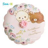 日本限定 拉拉熊家族 小花 杯子杯蓋 (粉色)