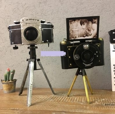 [協貿國際]   相機擺件咖啡廳裝飾品擺設家居擺件  (1入)