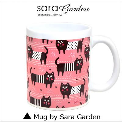 客製 手作 彩繪 馬克杯 Mug 手繪 插畫 愛心 貓咪 咖啡杯 陶瓷杯 杯子 杯具 牛奶杯 茶杯