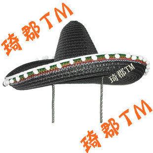 麥色超大墨西哥帽
