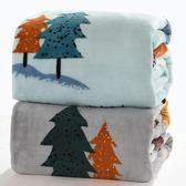 冬季法萊法蘭絨珊瑚絨毯子云貂絨毛毯加厚單人雙人保暖床單毛巾被