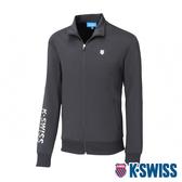 K-SWISS Knit Jacket運動外套-男-黑