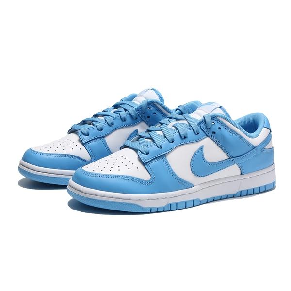 NIKE 休閒鞋 DUNK LOW 北卡藍 經典 球鞋穿搭 男(布魯克林) DD1391-102