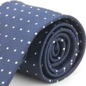 【Alpaca】深藍白點領帶