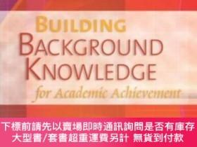 二手書博民逛書店Building罕見Background Knowledge For Academic Achievement