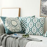 抱枕 睡枕 刺繡北歐抱枕靠墊沙發靠墊套客廳沙發靠枕抱枕套不含芯 igo 歐萊爾藝術館