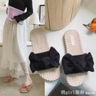 拖鞋女外穿時尚百搭夏海邊沙灘仙女風2020新款網紅懶人鞋涼拖鞋 618購物節