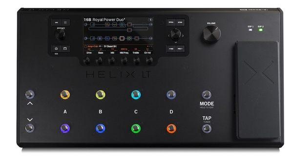 【金聲樂器】Line 6 HELIX LITE 頂級旗艦款 吉他效果器 附效果器袋