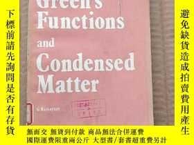 二手書博民逛書店green s罕見functions and condensed matter(P304)Y173412