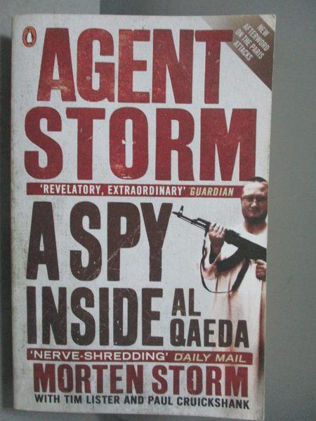 【書寶二手書T5/原文小說_OQB】Agent Storm-A Spy Inside al-Qaeda_Morten S