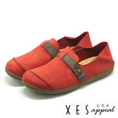 XES 女鞋 生活休閒 特色鞋飾 軟Q舒適 MIT 上班休閒都EASY _紅