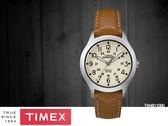 【時間道】TIMEX天美時 遠征系列復刻皮帶腕錶– 米白面霧殼棕皮(TW4B11000)免運費