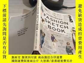 二手書博民逛書店FASHION罕見SKETCH BOOKY270289