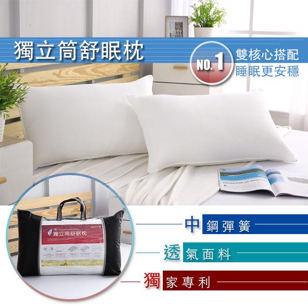 BEST寢飾 獨立筒舒眠枕 五星級飯店指定 完美支撐 透氣 MIT 台灣製造