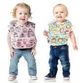 Bumkins寶寶防水圍兜 0-1-2歲嬰兒童吃飯圍嘴小孩食飯兜  ifashion部落