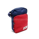 Nike 斜背包 Shoulder Bag 藍 紅 小包包 側背包 小容量 男女款 【ACS】 BA5809-492