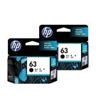 【二黑組合】HP NO.63 63 原廠墨水匣 盒裝 適用1110 2130 3630 3830 5220等機型