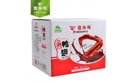 湖南特產食為先炸醬鴨翅一箱(現貨+預購)