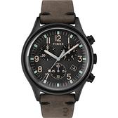 TIMEX 沙漠風暴計時皮帶腕錶-TW2R96500
