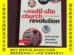 二手書博民逛書店外文原版罕見the multi-site church revolutionY234006