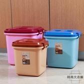 寵物飼料儲糧桶儲米箱密封防蟲防潮【 大衣櫥】