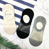 【KP】韓國 22-26cm 透膚 條紋 膚 黑 灰 腳後跟防滑 短襪 成人襪 襪子 DTT1000017