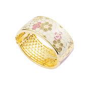手環 個性 時尚 百搭 經典 Lilac&Snow 銅鍍14K金