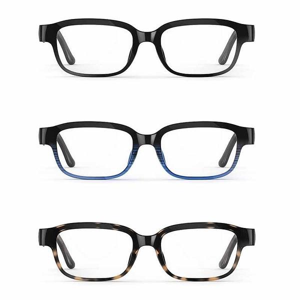 Echo鏡框(第二代)Smart glasses with open-ear audio and Alexa B083C58VDP 黑/藍黑/豹紋 [2美國直購]