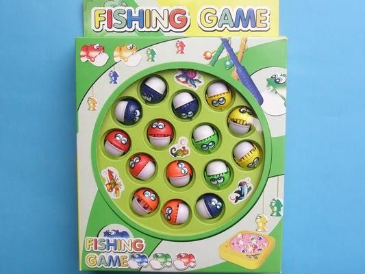 釣魚 電動釣魚組童玩(中方型/附電池)/一個入{促150}
