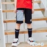 兒童工裝短褲外穿夏季薄款中大童裝五分褲子【奇趣小屋】