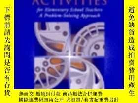 二手書博民逛書店Mathematics罕見Activities For Elementary School Teachers: A