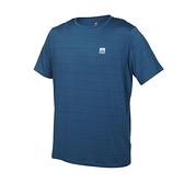 FIRESTAR 男彈性機能短袖圓領T恤(慢跑 路跑 涼感 運動 上衣≡體院≡ D1733-97