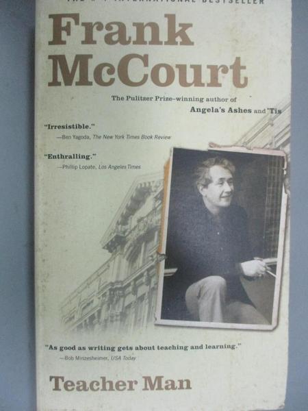 【書寶二手書T1/大學教育_OIC】Teacher Man: A Memoir_McCourt, Frank