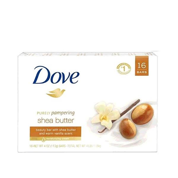 [COSCO代購] W750953 Dove 乳木果油香皂 113公克 16入