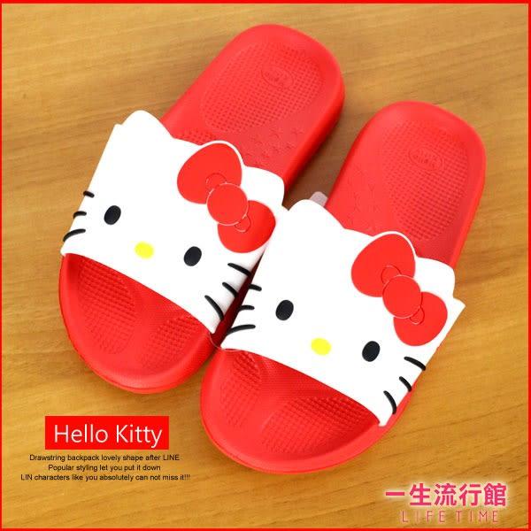 《升級版》Hello Kitty 凱蒂貓 正版 防滑 室內 室外拖鞋 浴室拖鞋 女鞋 海灘鞋 B21624