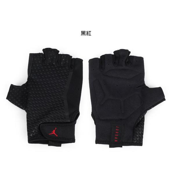 NIKE JORDAN 訓練手套(飛人喬丹 重量訓練 健身 半指手套≡體院≡ J0001945
