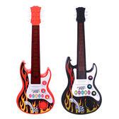 電吉他 嬰寶小明星吉他仿真電動初學玩具樂器兒童樂器聲光音樂小提琴 MKS 歐萊爾藝術館