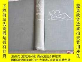 二手書博民逛書店1942年,英文原版,頂面刷藍毛邊本小說,look罕見to th
