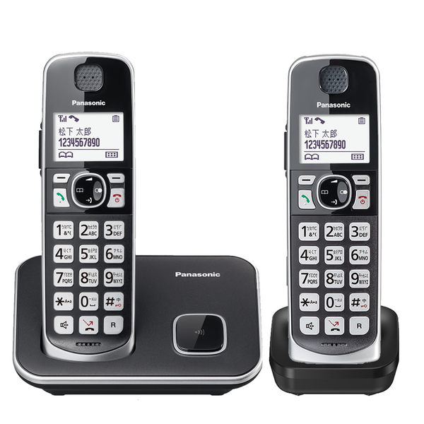 Panasonic 國際牌 DECT 中文數位無線電話 KX-TGE612 TWB 2019年新機上市 贈餐具組