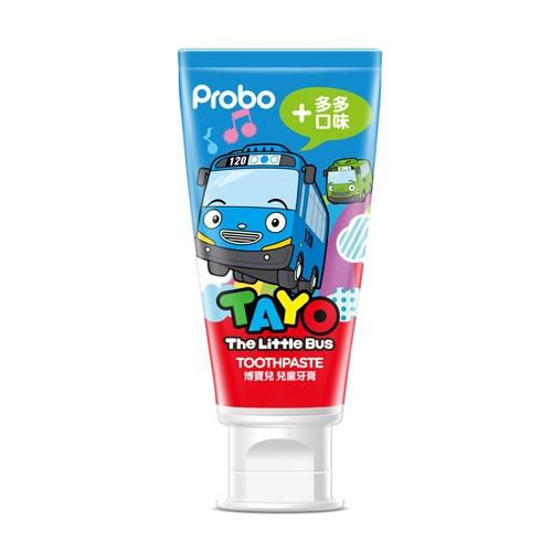博寶兒兒童牙膏-多多口味80g【愛買】