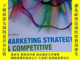 二手書博民逛書店marketing罕見strategy & competitiv