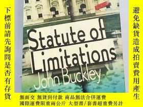 二手書博民逛書店Statute罕見of Limitations 雕像的侷限性 精