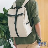 電腦包休閒雙後背包15.6寸背包牛津帆布韓版【英賽德3C數碼館】