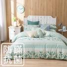 鴻宇 雙人薄被套 夢時尚綠 防蟎抗菌 美國棉授權品牌 台灣製2121